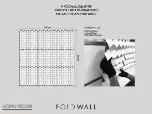 wandverkleidung_foldwall_9elements_alu_kupferpatina_faltkunst_dekorwand_wohn-room