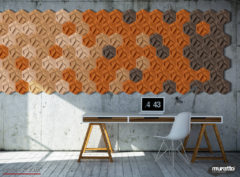 wandverkleidung_kork_hexagon_muratto_wohn-room