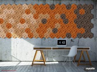wandverkleidung_kork_hexagon_muratto_wohn-room