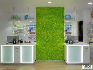 wandverkleidung_pflanze_mosswall_metallträger_moos_verdeprofilo_moospanel_mooswand_wandmoos_interior-design_greenwall_wohn-room